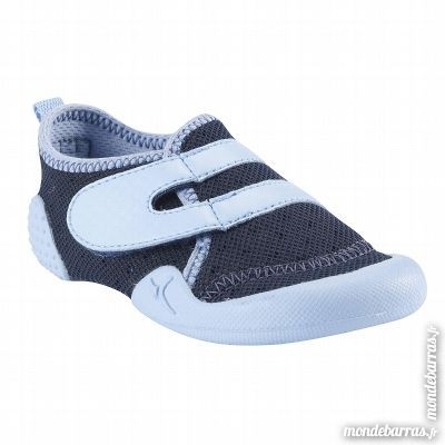 Chaussons Gym Baby shoe marin DOMYOS taille 20 5 Le Mée-sur-Seine (77)
