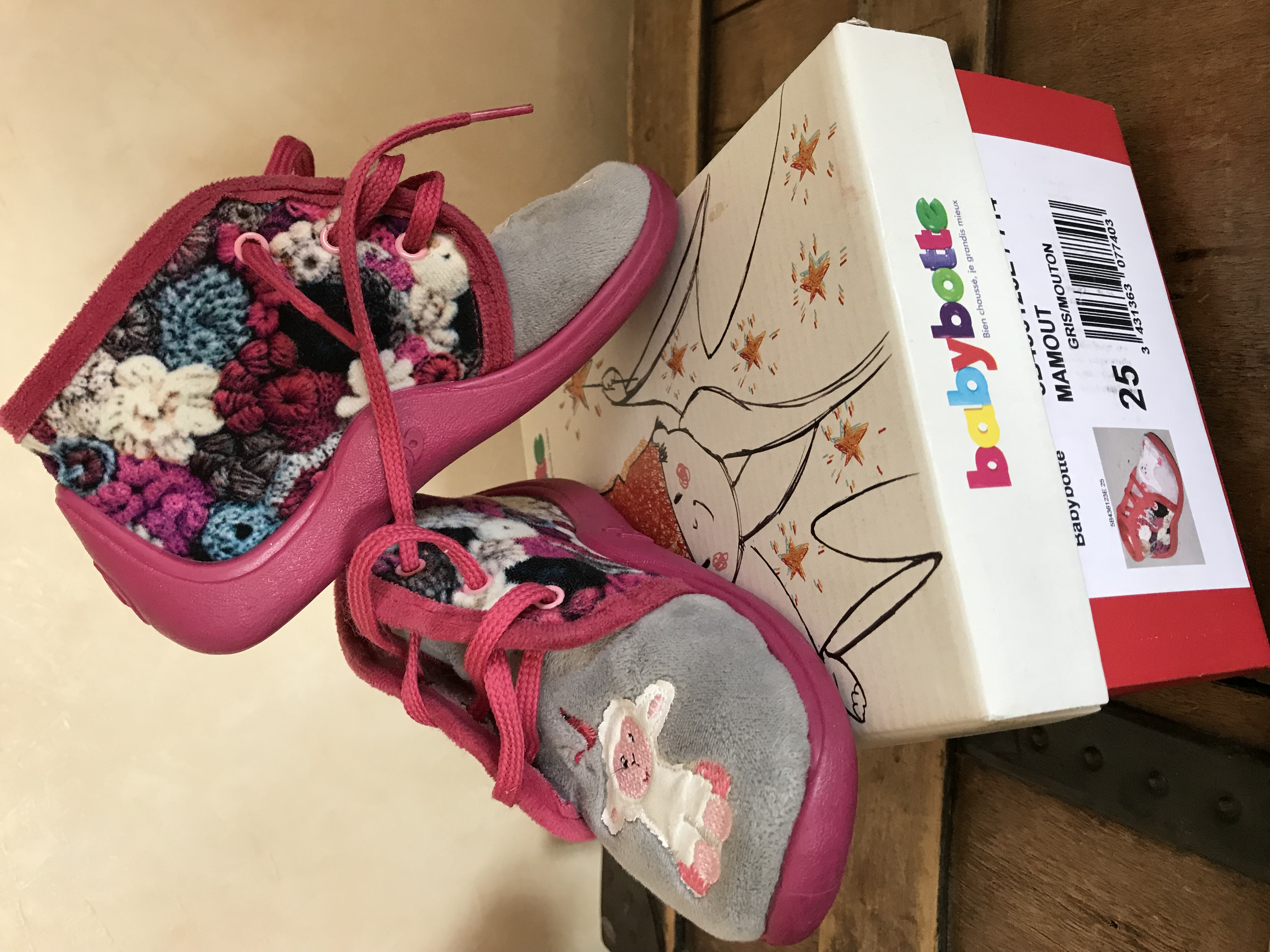 chaussons babybotte fille 25 10 Angy (60)