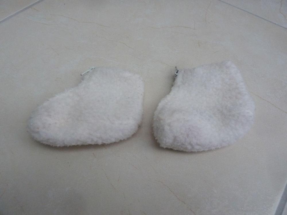 Chaussons blancs 3 Taverny (95)
