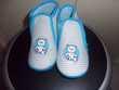 Chaussons bleus 26