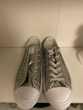 chaussure converses gris pailletée  Lille (59)