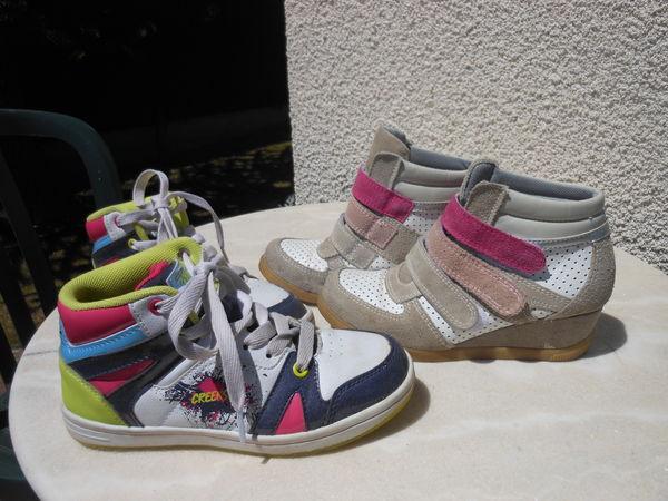 21161d211 Chaussure enfant fille pointure 32 et 33