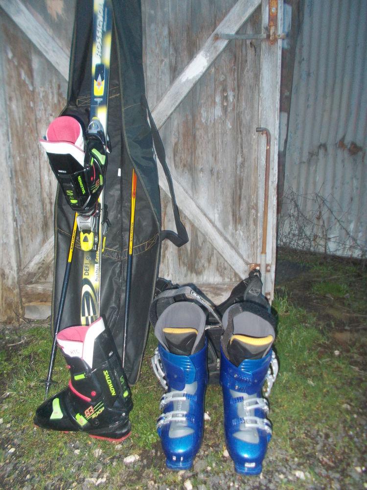 chaussure de ski + ski 1. 78 faire prix Sports