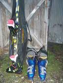 chaussure de ski + ski  1. 78 faire prix  150 Saran (45)