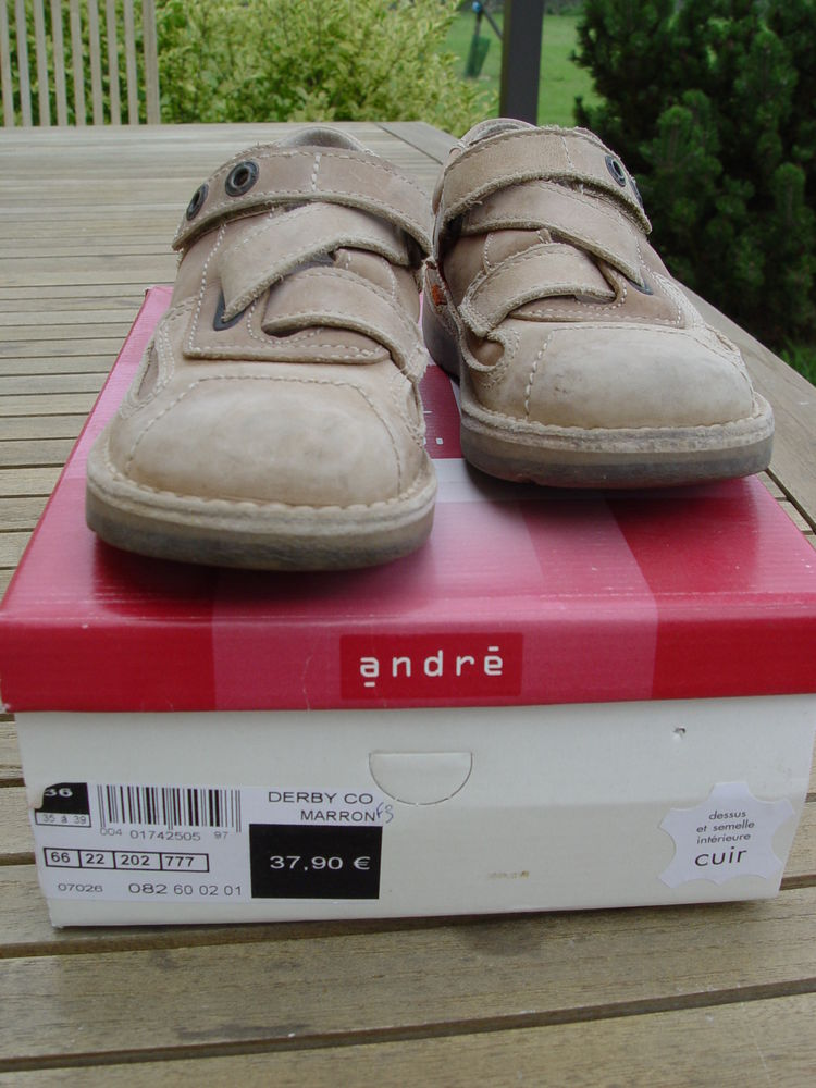 chaussure garçon en cuir T33 15 Saulnières (28)