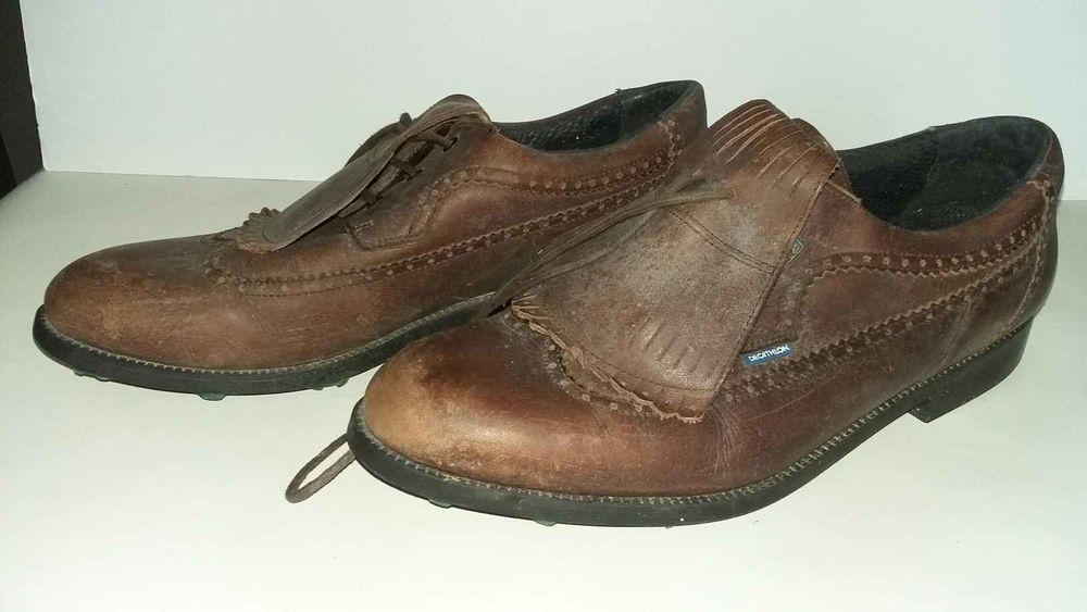chaussure de golf decathlon en cuir imperméable              50 Saumur (49)