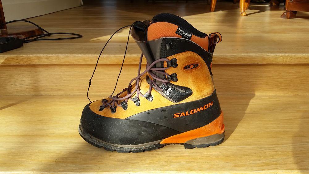 Chaussure de Haute Montagne T44 2/3 SALOMON 180 Brunoy (91)