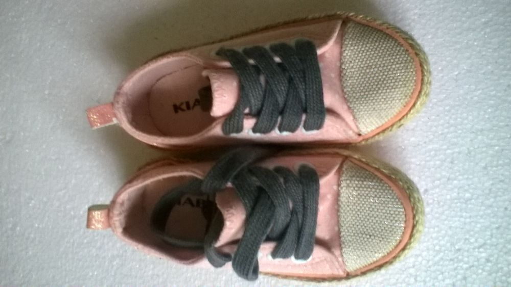 Chaussure toile fille 3 Bassan (34)