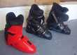 Chaussures de ski alpin. Sports