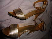 chaussures or - argent en cuir, neuves T.39 75 Châtenay-Malabry (92)
