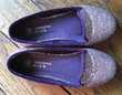 Chaussures ballerines enfant à paillettes