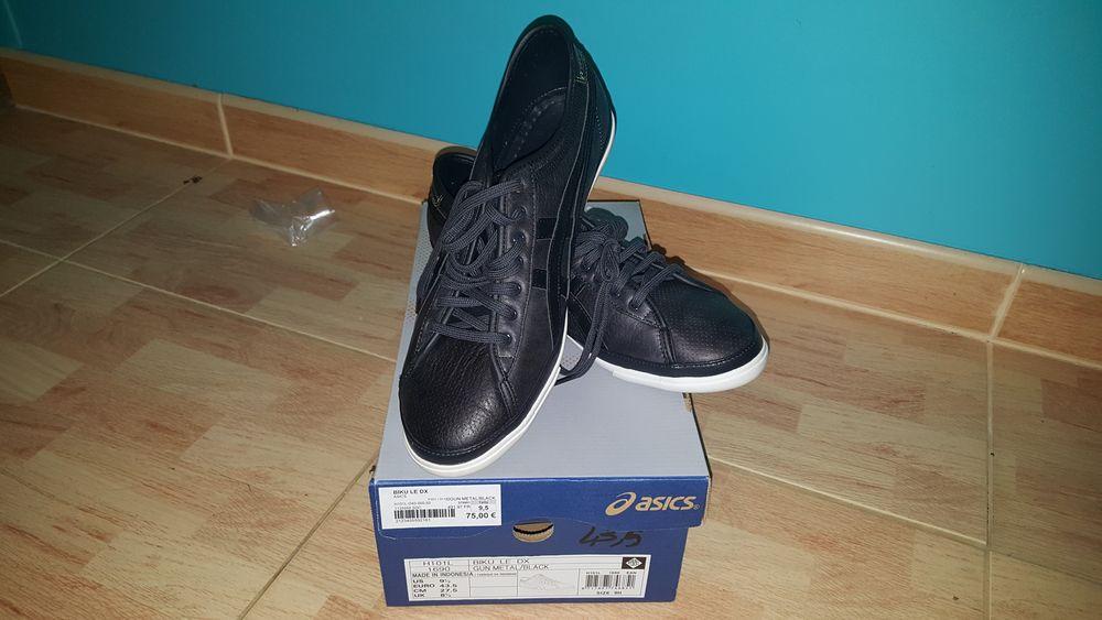 Chaussures Biku LE DX Asics Noir taille 43.5 NEUVE 45 Hasparren (64)