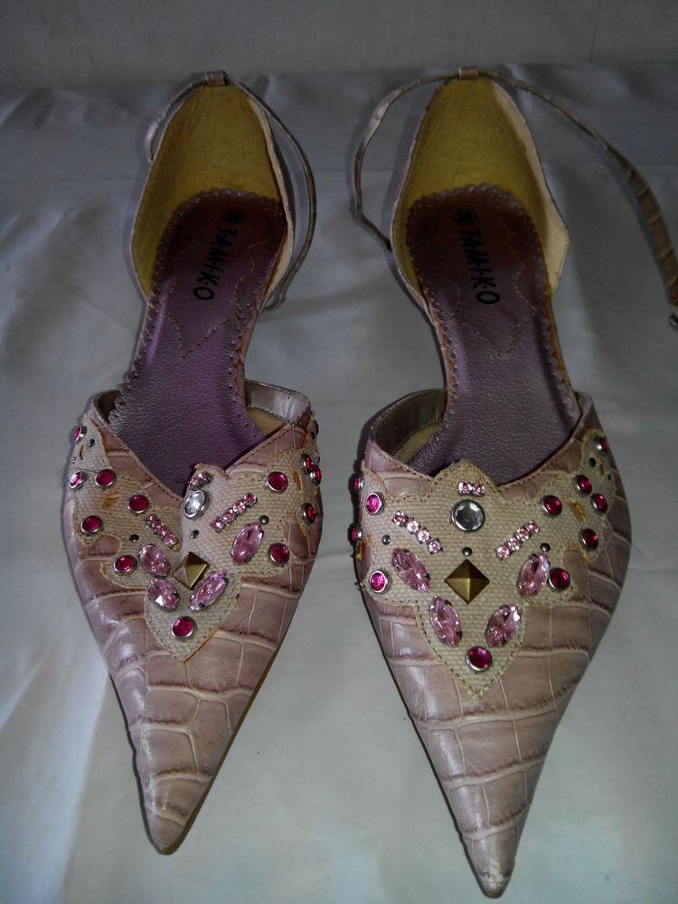 Chaussures à bout pointu T.38  6 Drancy (93)