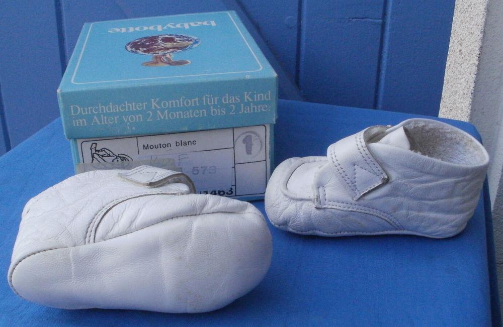 Chaussures ou Chaussons bébé vintage - Taille 1 (BabyBotte) 8 Montauban (82)