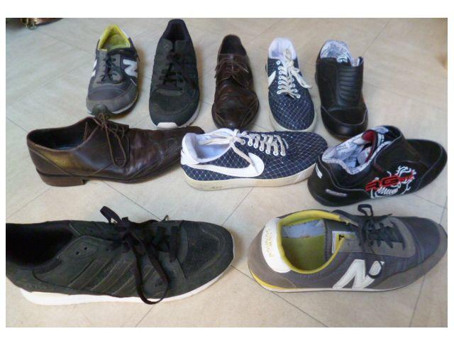 CHAUSSURES cuir, BASKETS, TENNIS du 42 au 46 - 14 Martigues (13)