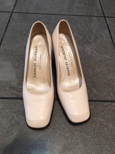 Chaussures cuir beige Charles Jourdan  50 Paris 15 (75)