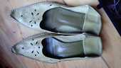 Chaussures cuir esprit babouches 32 Poitiers (86)