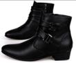 Chaussures cuir hommes noires