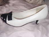 Chaussures cuir et vernis noir&blanc T.38 22 Châtenay-Malabry (92)
