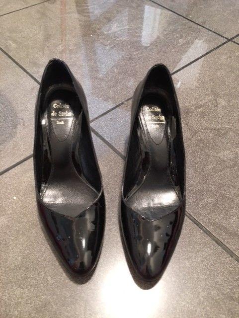 Chaussures CUIR VERNIS NOIR COLISEE de SACHA  50 Paris 15 (75)