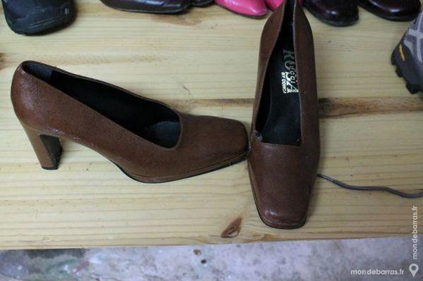 chaussures cuir 35 Soignolles-en-Brie (77)