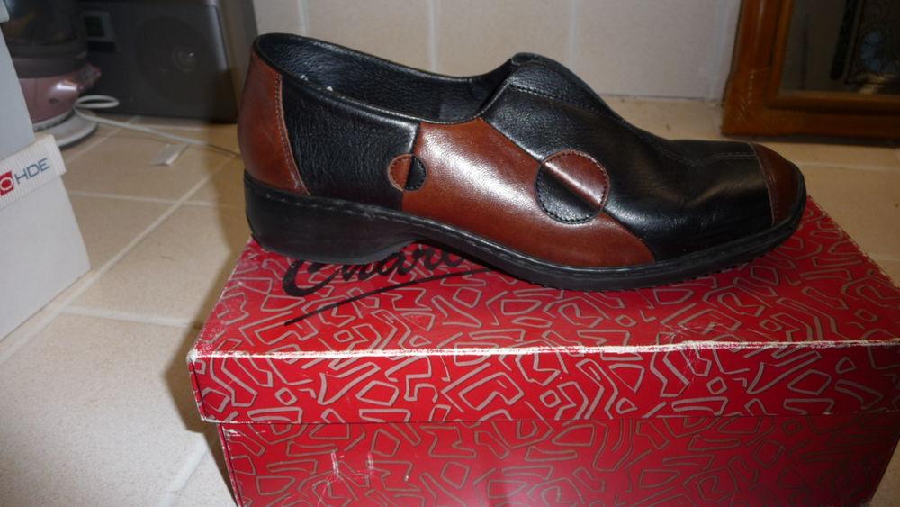 chaussures cuir 15 Champignelles (89)