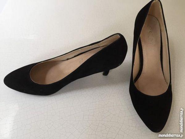 Chaussures CM en daim noir 5 Saint-Germain-sur-Morin (77)