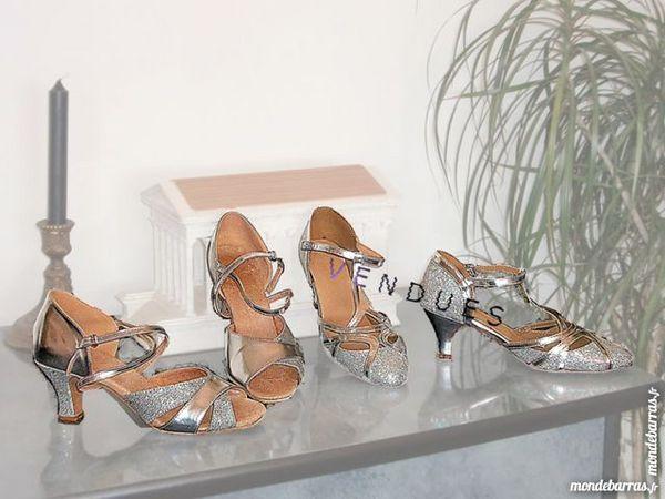 chaussures de danse argentées 30 Nîmes (30)