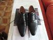 Chaussures derby GOOR Taille44 noires quasi neuves Tout Cuir Marseille 5 (13)
