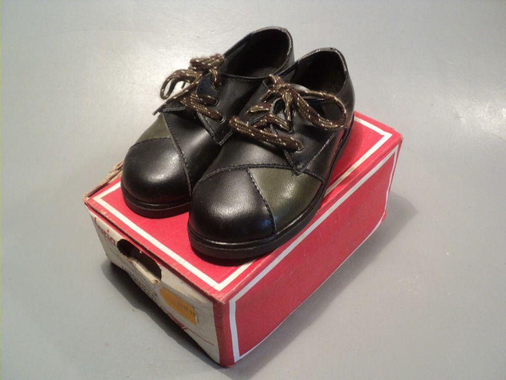 18dd61d3b69b1 Chaussures Enfant Cuir Vintage Neuve Style Rétro 1960 1970 25 Loches (37)