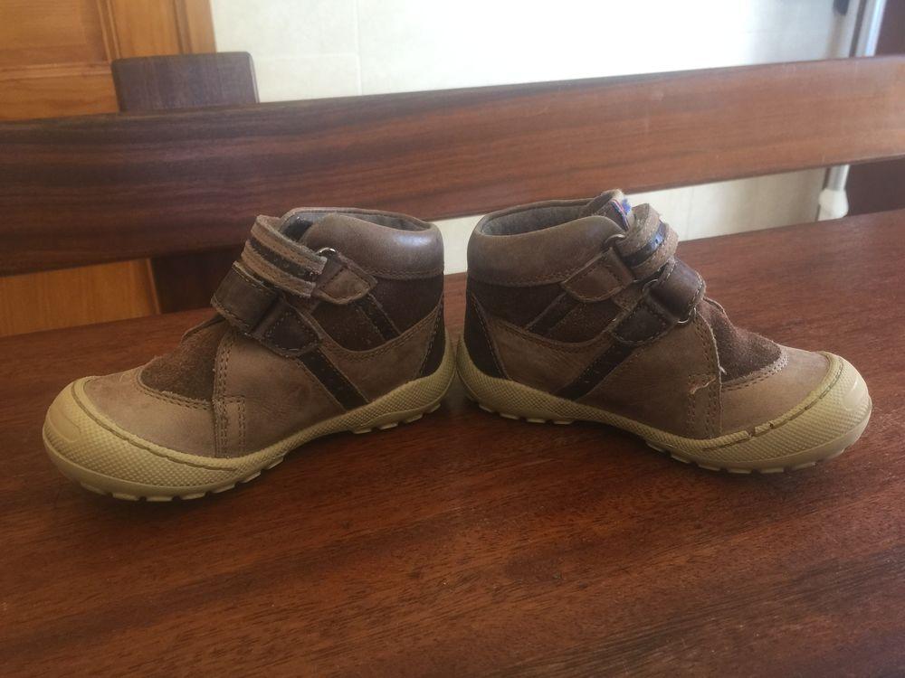 Chaussures enfant garcon à cratch   MOD 8   5 Saleilles (66)