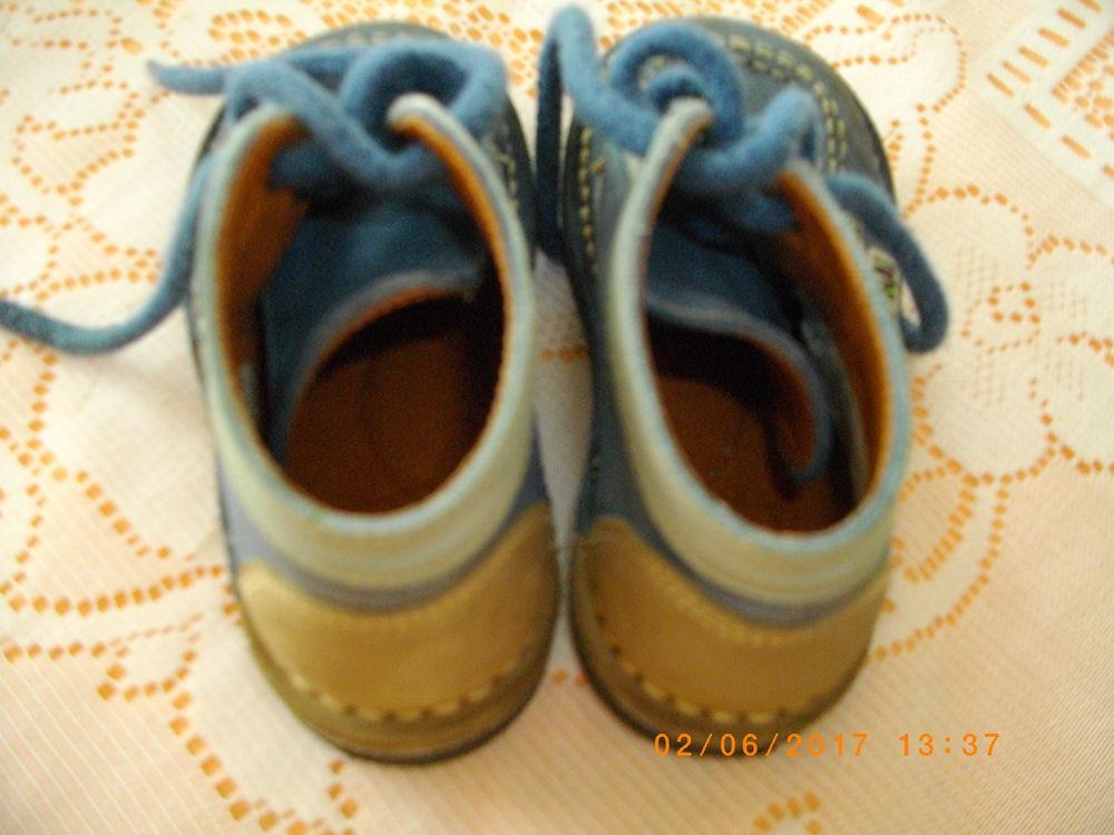 CHAUSSURES ENFANT GRIS BLEU - POINTURE : 16               5 Perros-Guirec (22)