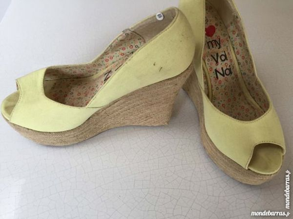 Chaussures espadrilles compens I Love My Voi Noi 5 Saint-Germain-sur-Morin (77)