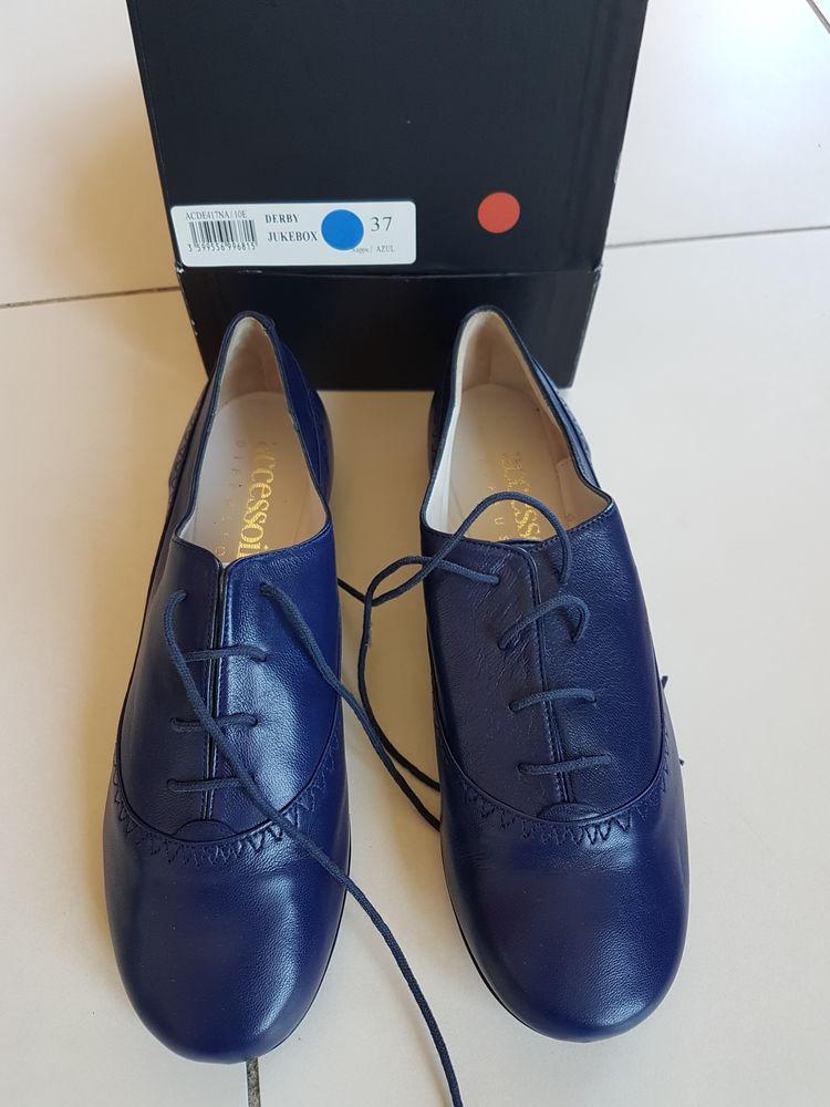 Chaussures femme bleues de marque ACCESSOIRES taille 37 25 Toulouse (31)