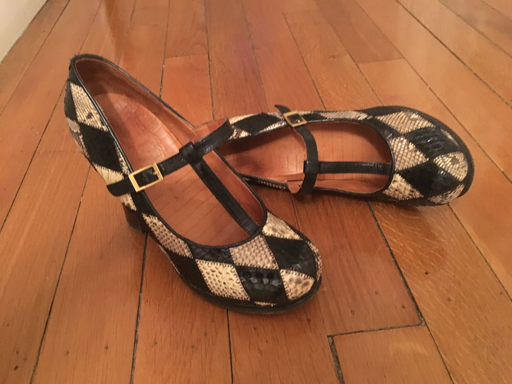 Chaussures femme cuir Chie Mihara Chaussures