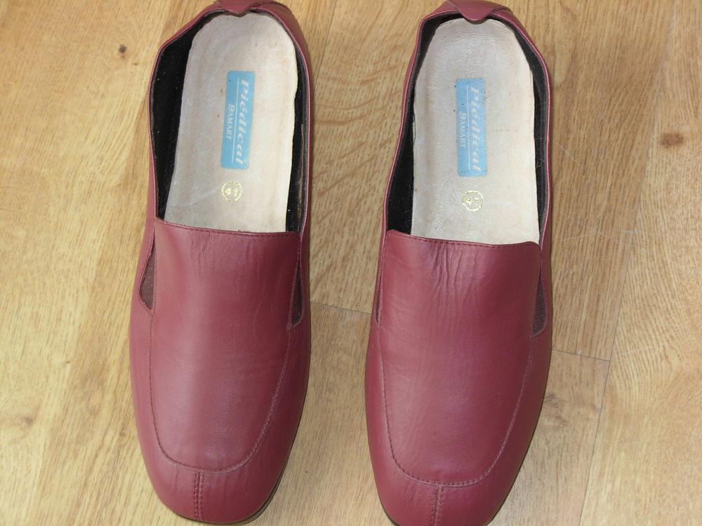 Chaussures femme, neuves en cuir, pointure 41, talons 3 cm 8 Chénérailles (23)