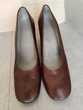 Chaussures femme tout cuir à talons