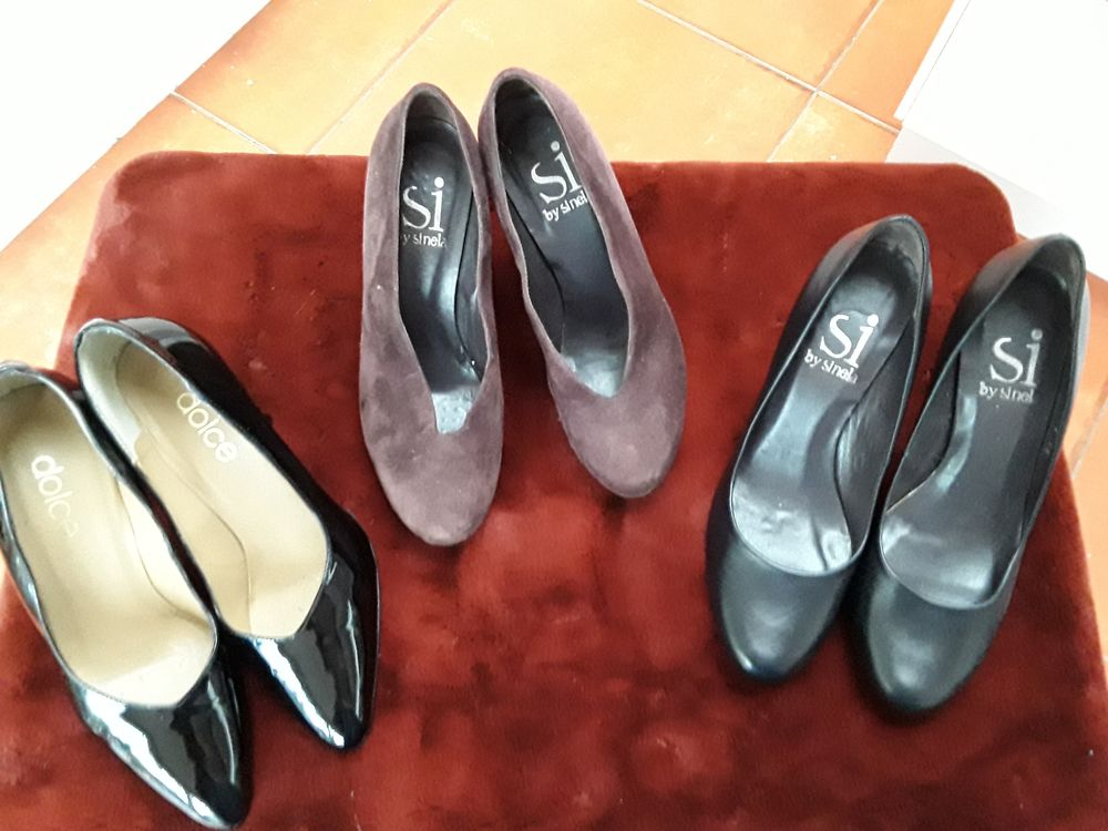 CHAUSSURES FEMMES P.36 TOUT CUIR - TRES BELLE QUALITE 15 Tourcoing (59)