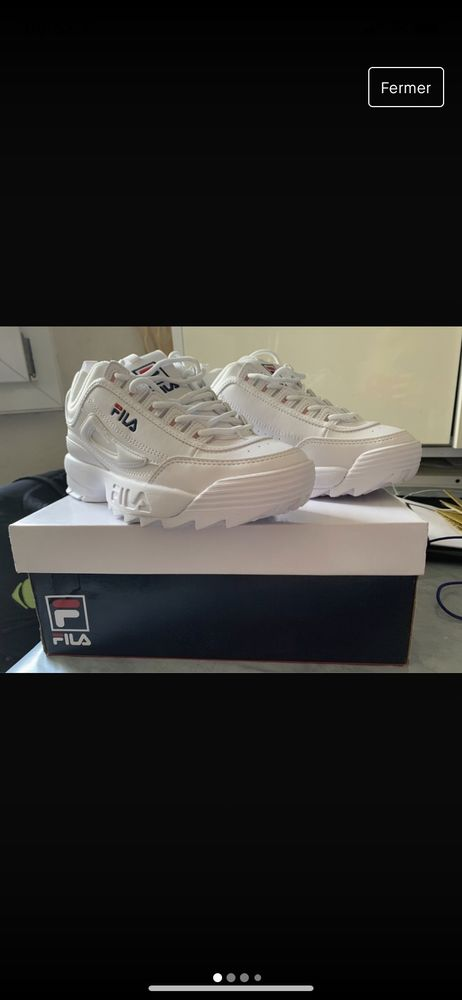 Chaussures FILA blanche 75 Toulon (83)