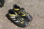 chaussures foot indoor adidas t38 8 Sainte-Féréole (19)