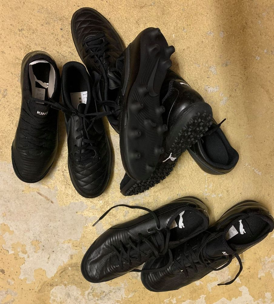 Chaussures foot Nike + Puma 39 Coublevie (38)