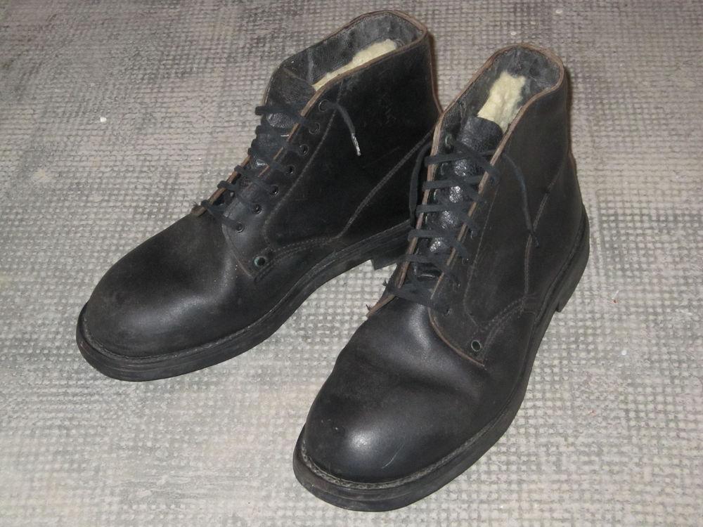 Chaussures de mécanicien fourrées 45 Salon-de-Provence (13)