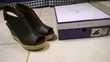 chaussures montantes noires neuves