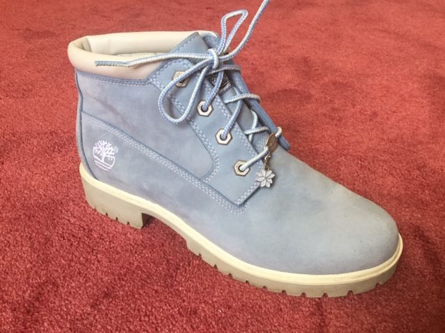 chaussures montantes timberland femme