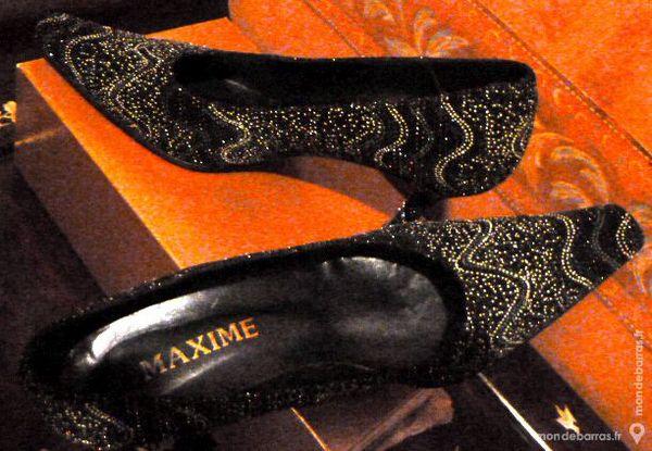 chaussures noires pailletées 10 Lille (59)