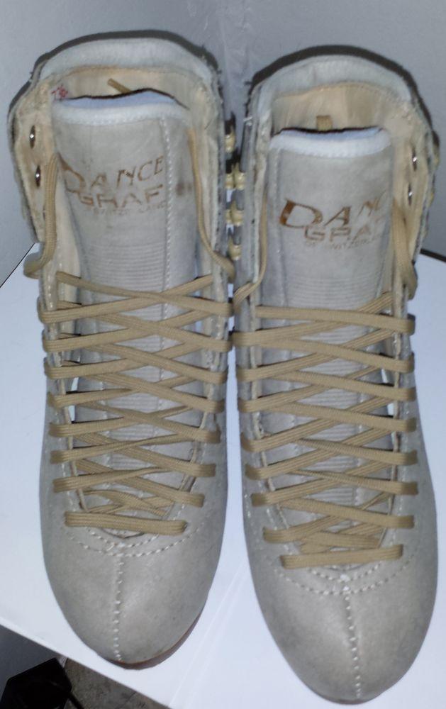 Chaussures de patins à glace de style danse sur glace 200 Joigny (89)