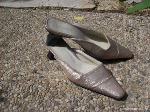 chaussures à petits talons  -  36 / 37 - zoe 4 Martigues (13)