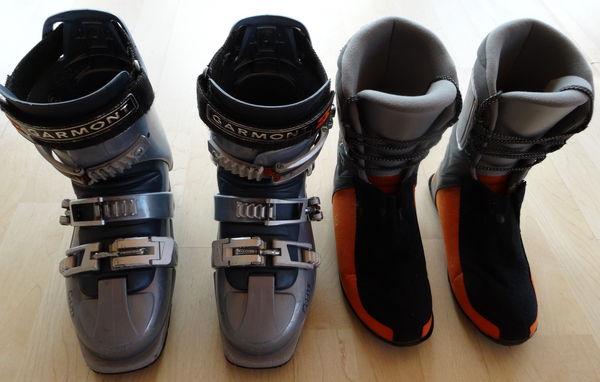 Chaussures ski rando Garmont 24.5 100 Annemasse (74)