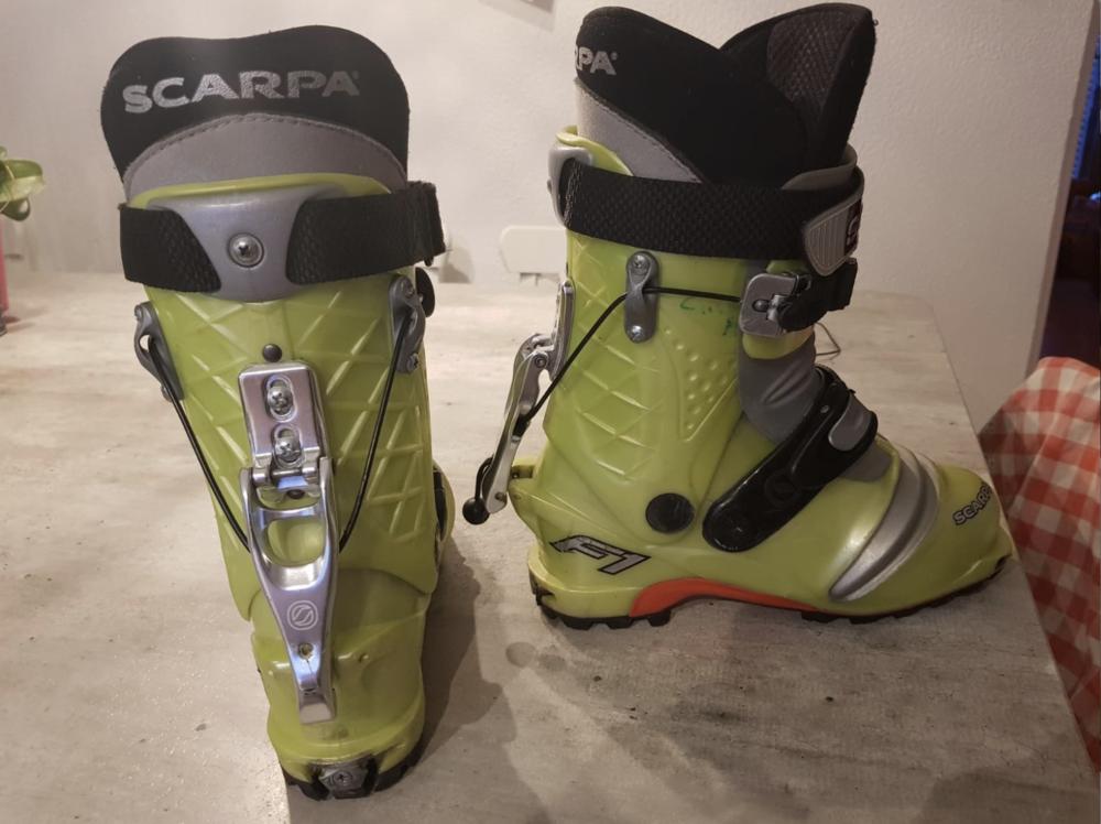 Chaussures ski de randonnée SCARPA F1  190 Revel (38)