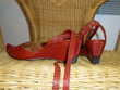 Chaussures sandales cuir, taille 37